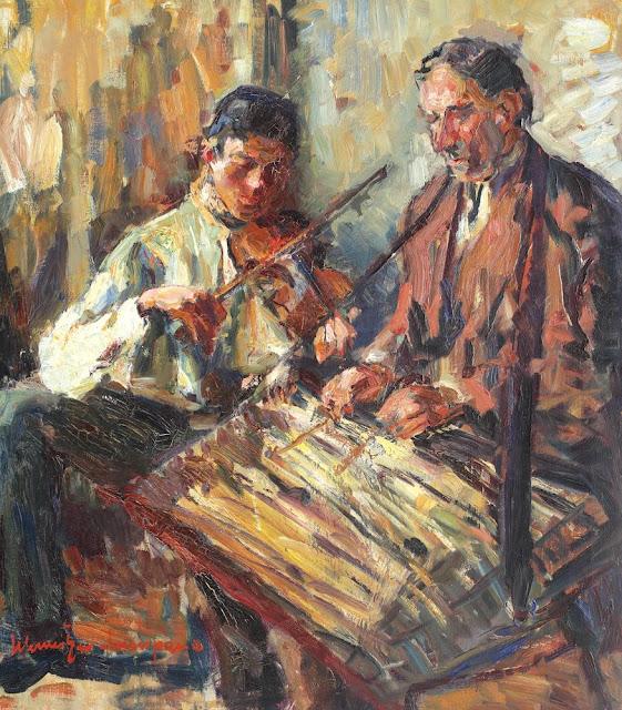 Rudolf Schweitzer-Cumpăna - Muzicanţii