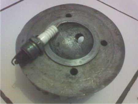 Memperbaiki Cylinder Head Vespa sprint