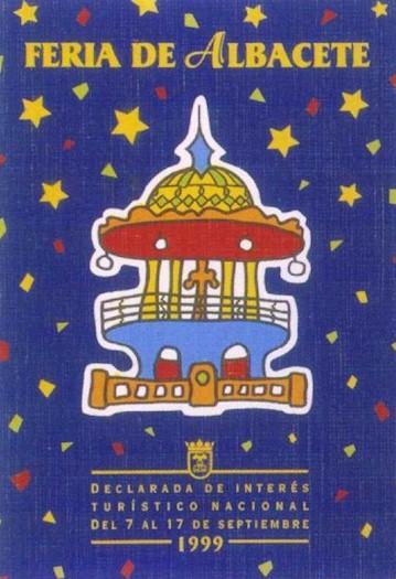Cartel Feria Albacete 1999