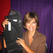 Lisa Rinna with Beija-Flor Jeans
