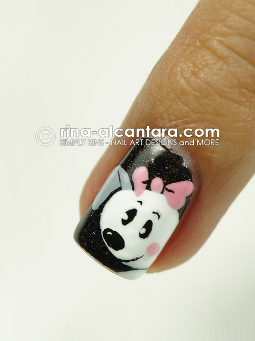 Puppy Love Nail Art Design