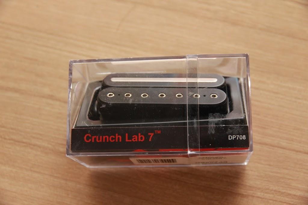 crinson music and guitars dimarzio crunch lab 7. Black Bedroom Furniture Sets. Home Design Ideas