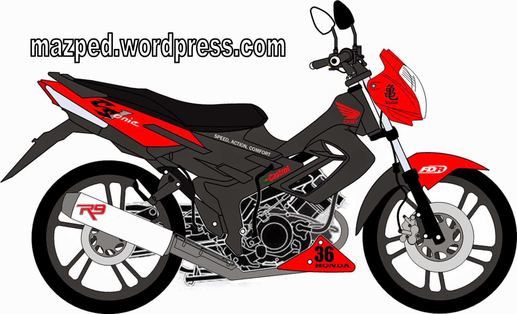Honda Cs1 Modifikasi Ayago