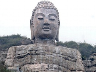 China 1459 Year Old Buddha Gets Facelift Image