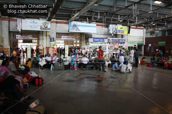 CST Chhatrapati Shivaji Terminus or VT Victoria Terminus after 26-11 attack