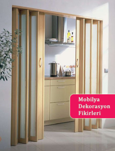 Akordeon Kapı Modelleri Mobilya Dekorasyon Fikirleri