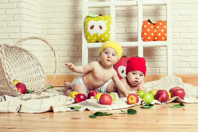 Профессиональная фотосессия малышей