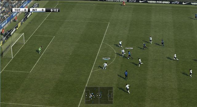 Tirar efeito blur durante os jogos - PES 2012