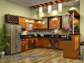 Thiết kế tủ bếp đẹp ở TPHCM