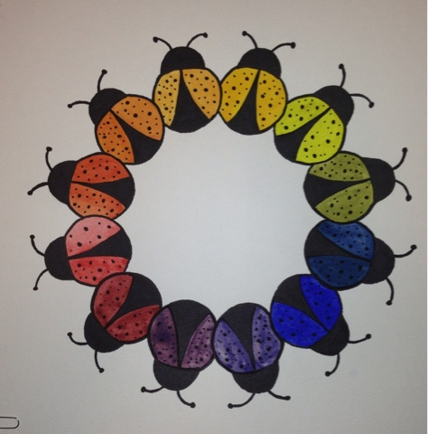 Teacherspayteachers Product Color Wheel Motif Art Lesson 409885
