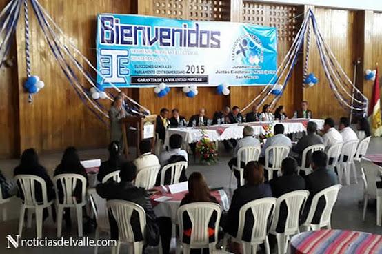 Juramentan a Juntas Electorales Municipales - Elecciones Guatemala
