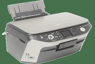 Máy in màu Epson cũ Pm-A890