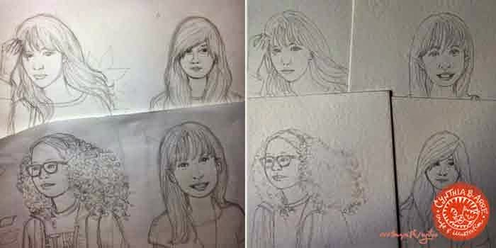 eraserheads daughters custom portraits