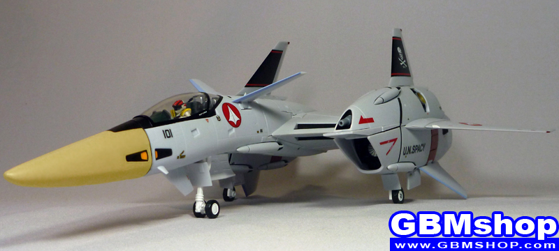 Macross Flashback 2012 VF-4 VF-4G Lightning III Hikaru Ichijo Custom Fighter Mode