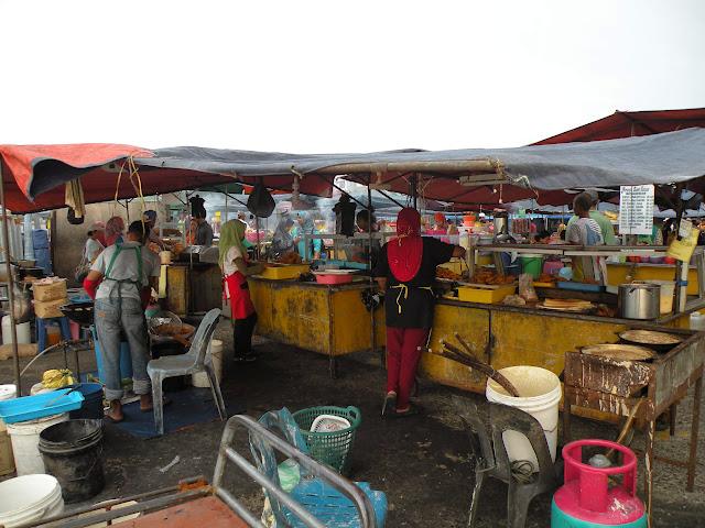 Food Market Kota Kinabalu Borneo Malaysia