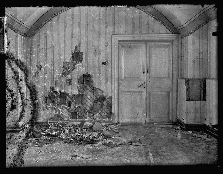 Famosa foto de onde a família Romanov foi executada