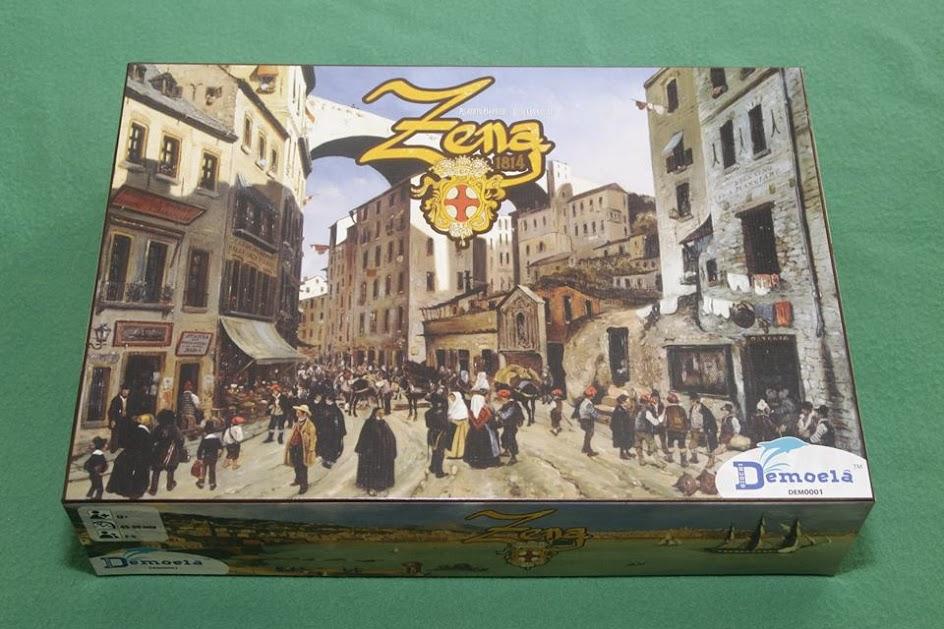 La scatola di Zena 1814