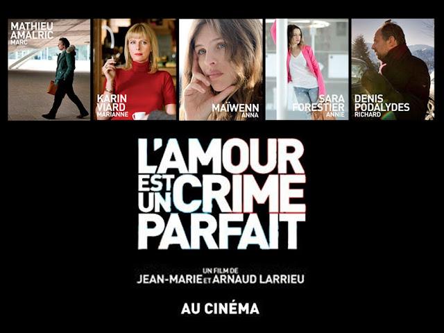 Ο Έρωτας είναι το Τέλειο Έγκλημα L'Amour Est Un Crime Parfait Wallpaper