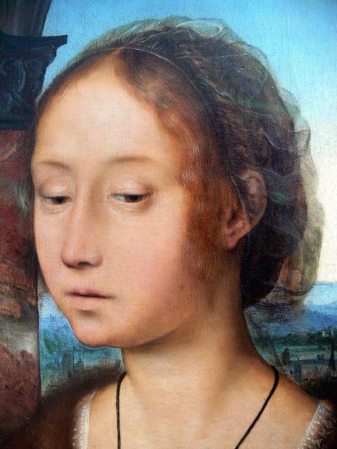 Quentin Massys - Marie Madeleine. Detail