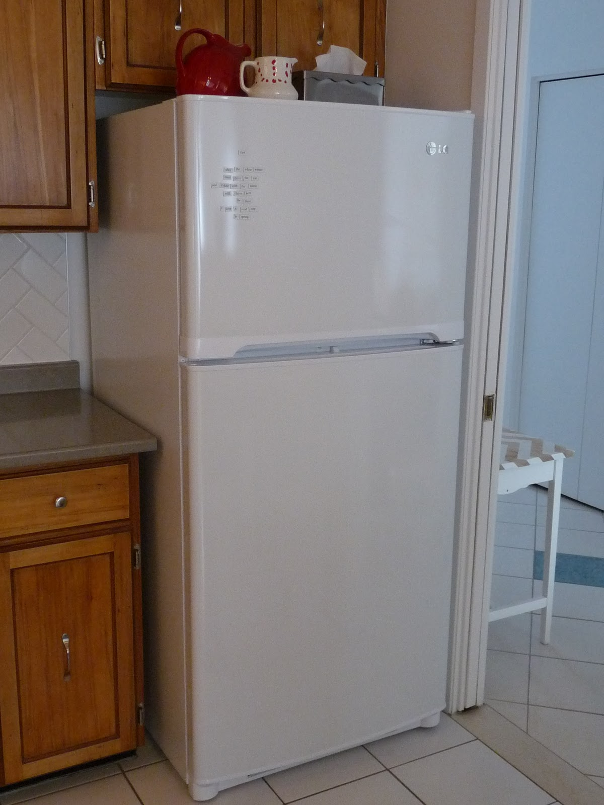 finally fridge photos dans le lakehouse