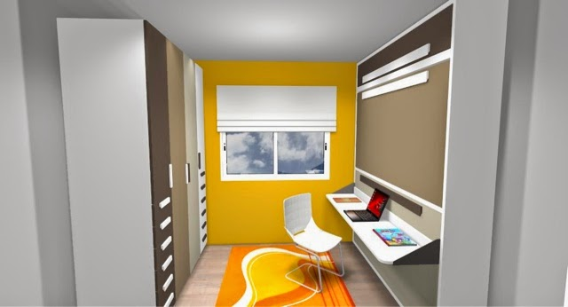 Como amueblar una habitaci n peque a - Como decorar una habitacion pequena juvenil ...
