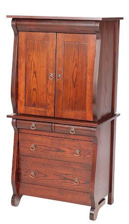 """Matching Furniture Piece: 60""""x 30"""" Classic Armoire in Michigan Oak"""