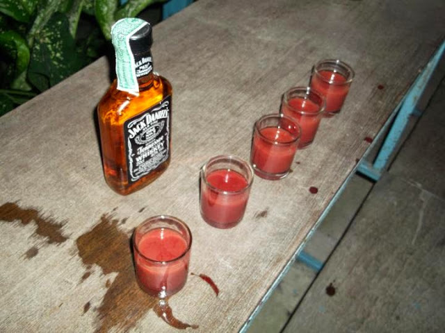 Cobra blood shots