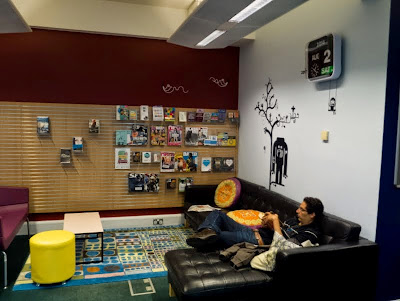 Brighton Jubilee Library teen area