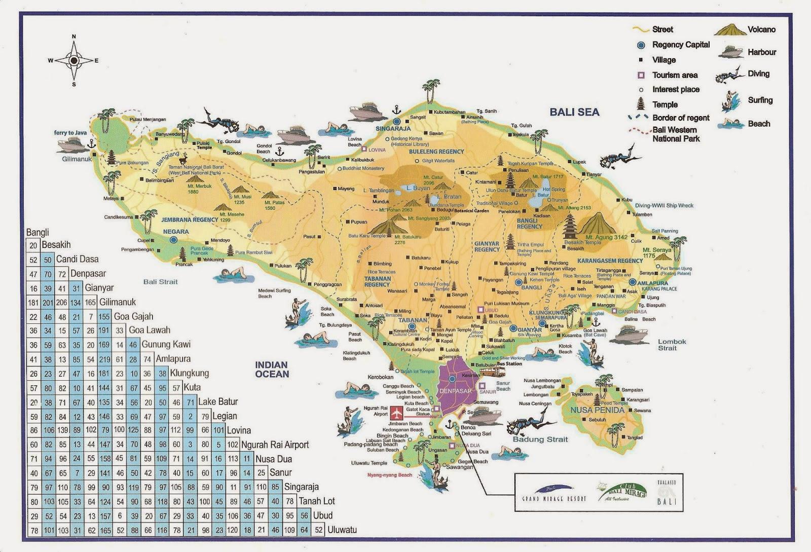 peta wisata bali pdf