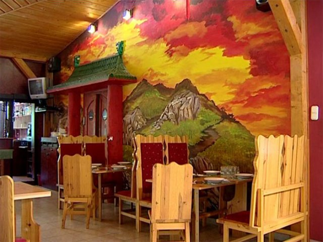 shaolin falu étterem