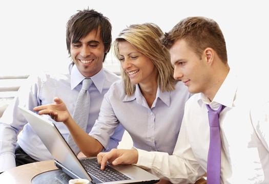 Empresarios en Internet
