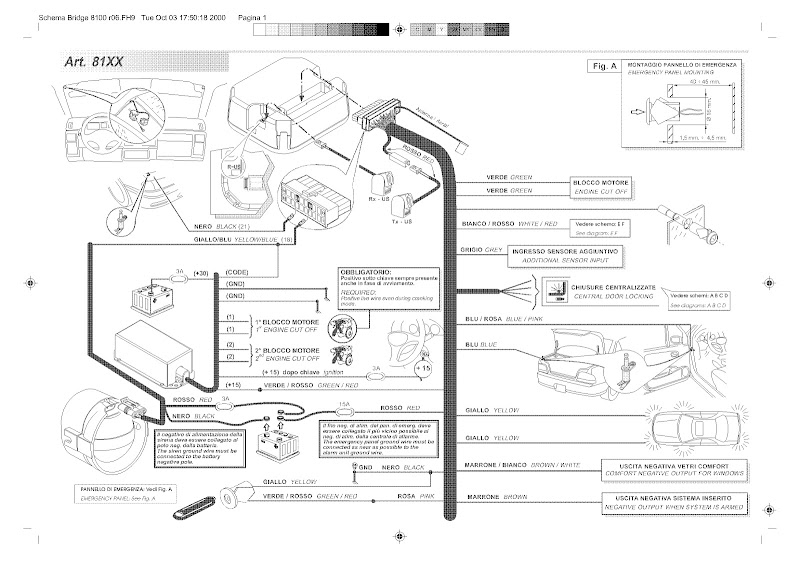 cobra 8185 alarm wiring diagram wiring diagram and schematic design 2008 cadillac cts radio wiring diagram digital