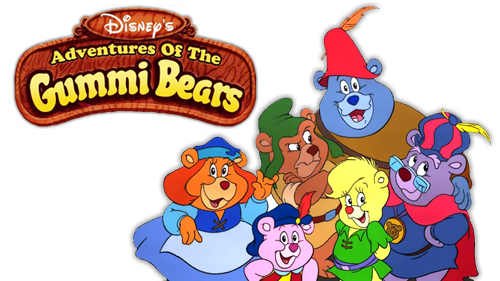 Gummi Bears Bouncing Here And There And