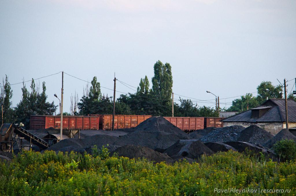 Сортировка угля