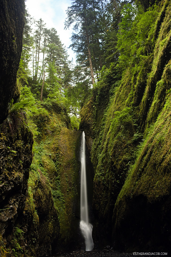 The Oneonta Falls Oregon | Places to Hike in Oregon.