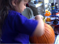 pumpkin carving 5