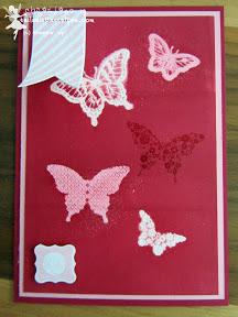 stampin up - papillon potpourri, hearts a flutter, alle meine minis