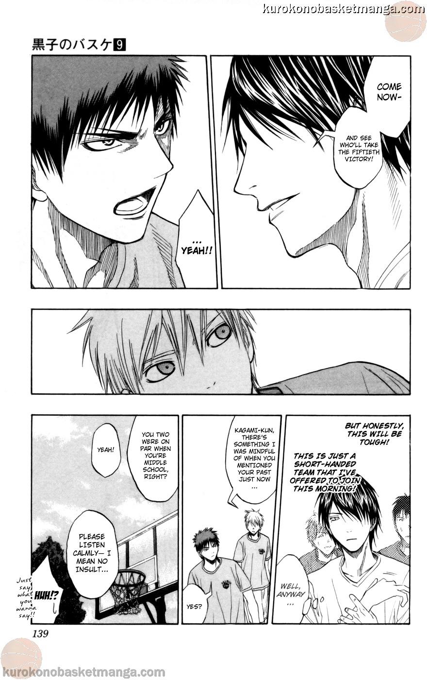 Kuroko no Basket Manga Chapter 77 - Image 13