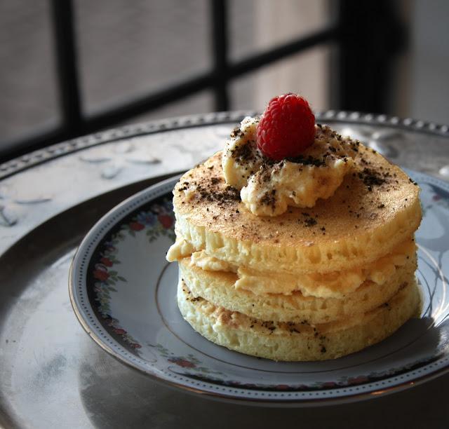 Canadian tiramisu pancakes