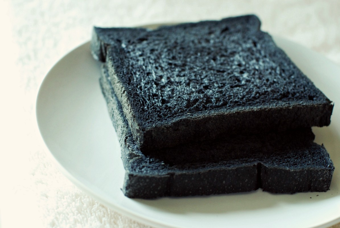 black bread black bread ukrainian black bread from black sesame bread ...