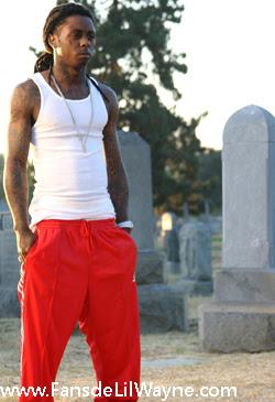 Imagen de Lil Wayne en el rodaje de My Life con The Game