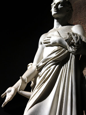 Sculpture in Santa Croce in Florence Italy