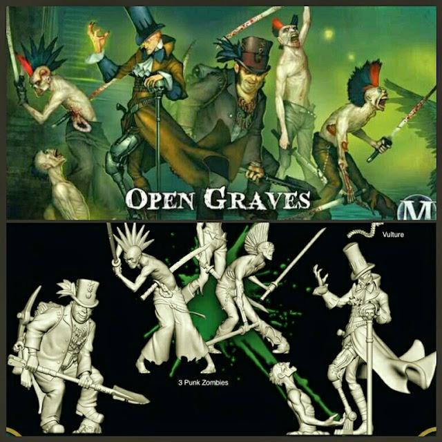 Banda Saqueadores de tumbas de Malifaux
