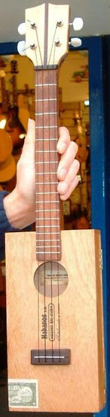 Tenor scale home made Cigar Box Ukulele
