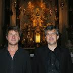 Bass und Orgel - Martin Senfter und Peter Waldner - Geistliche Abendmusik in der Basilika Wilten - 11.08.2014