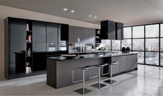 Lovik cocina moderna tienda de muebles de cocina desde for Cocinas modernas negras