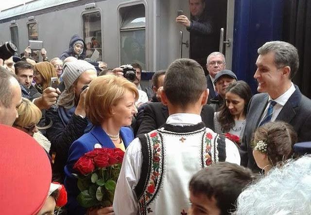 Principesa Moştenitoare Margareta şi Principele Radu, la Ploieşti - 1 decembrie 2013