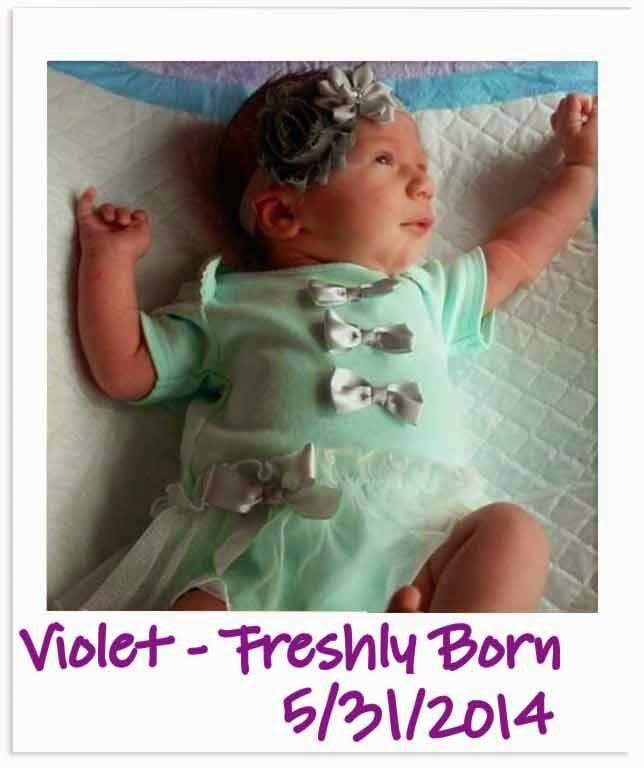 Happy 1st Birthday from Spirit of Life to Violet