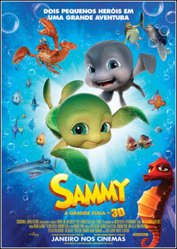 Download Sammy: A Grande Fuga – BDRip AVI Dual Áudio + RMVB Dublado
