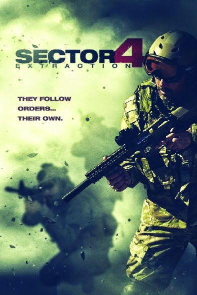 Poster Of English Movie Sector 4: Extraction (2014) Free Download Full New Hollywood Movie Watch Online At alldownloads4u.com